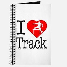 I Love Track Journal