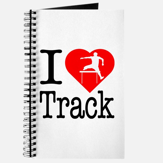 I Love Track Journal