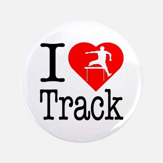 """I Love Track 3.5"""" Button"""