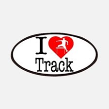 I Love Track Patches