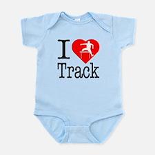 I Love Track Infant Bodysuit