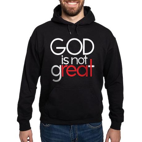 god is not real Hoodie (dark)
