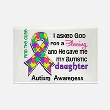 Blessing 4 Autism Rectangle Magnet (10 pack)