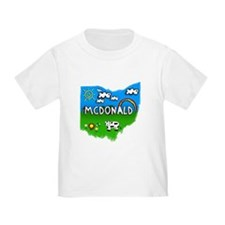 McDonald, Ohio. Kid Themed T