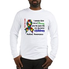 Blessing 4 Autism Long Sleeve T-Shirt