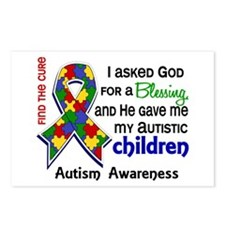 Blessing 4 Autism Postcards (Package of 8)