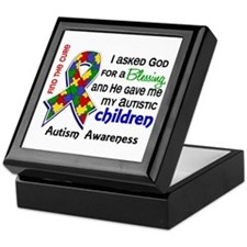 Blessing 4 Autism Keepsake Box