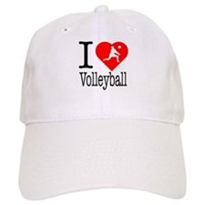 I Love Tennis Baseball Cap