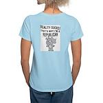 Republicans Suck Women's Pink T-Shirt