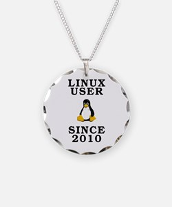 Linux user since 2010 - Necklace