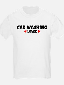 CAR WASHING Lover Kids T-Shirt
