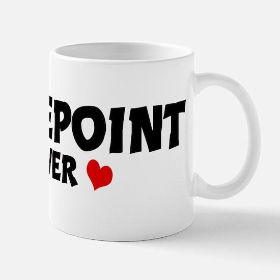 NEEDLEPOINT Lover Mug