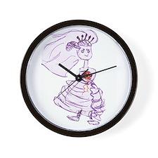 Bride Juniper Wall Clock