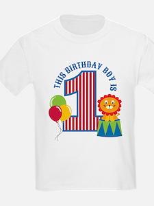 Circus 1st Birthday T-Shirt