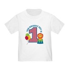 Circus 1st Birthday T