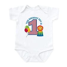 Circus 1st Birthday Infant Bodysuit