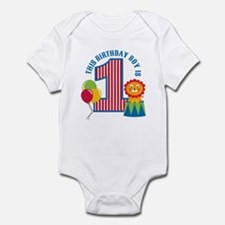 Circus 1st Birthday Infant Bodysuit