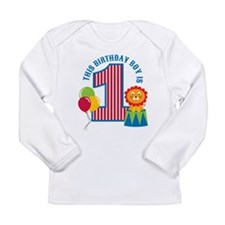Circus 1st Birthday Long Sleeve Infant T-Shirt
