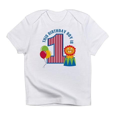Circus 1st Birthday Infant T-Shirt