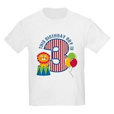 Circus 3rd Birthday T-Shirt