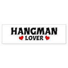 HANGMAN Lover Bumper Bumper Sticker