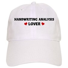 HANDWRITING ANALYSIS Lover Baseball Cap