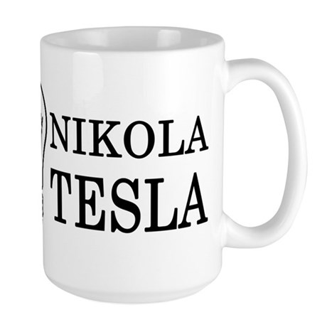 Nikola Tesla Large Mug