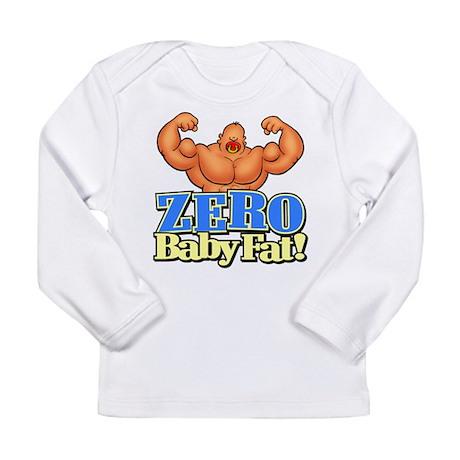 ZERO Baby FAT! - Long Sleeve Infant T-Shirt