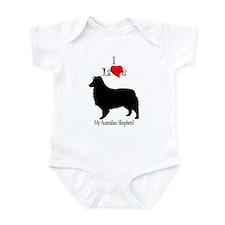 Australian Shepherd Dog Infant Creeper