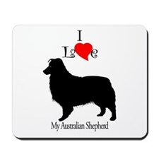 Australian Shepherd Dog Mousepad