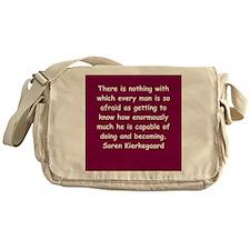 kierkegaard Messenger Bag