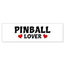 PINBALL Lover Bumper Bumper Sticker