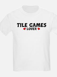 TILE GAMES Lover Kids T-Shirt