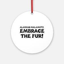 Alaskan Malamute Ornament (Round)