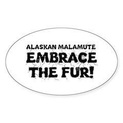 Alaskan Malamute Decal