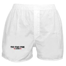 TIC-TAC-TOE Lover Boxer Shorts