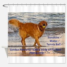 Golden Retriever 10 Shower Curtain