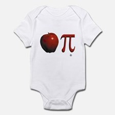 Apple Pi Infant Bodysuit