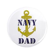 """Navy Dad 3.5"""" Button"""