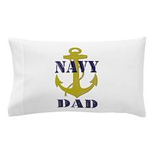 Navy Dad Pillow Case