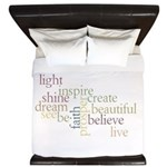 Kindness Matters King Duvet