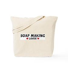 SOAP MAKING Lover Tote Bag