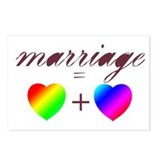 Funny Pro gay marriage Postcards (Package of 8)