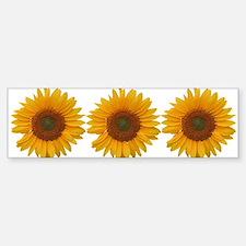 Sunflower-y Bumper Bumper Sticker