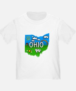 Ohio, Ohio. Kid Themed T