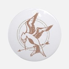 Mockingjay Art Ornament (Round)