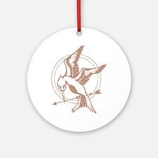 Mockingjay Art Ornament (Round)