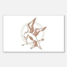 Mockingjay Art Bumper Stickers