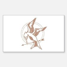 Mockingjay Art Stickers