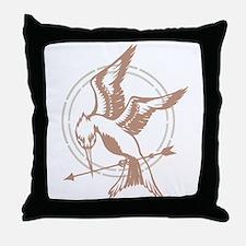 Mockingjay Art Throw Pillow